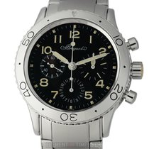 Breguet 3800ST/92/SW9 Steel 2003 Type XX - XXI - XXII 39mm pre-owned United States of America, New York, New York