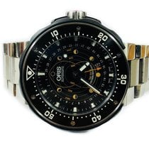 Oris ProDiver Pointer Moon Titanium 49mm Black