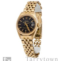 Rolex Oyster Perpetual Lady Date Yellow gold 26mm Black United States of America, New York, Hartsdale
