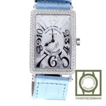 Franck Muller new Quartz Center Seconds Gemstone Limited Edition 43mm Steel Sapphire Glass