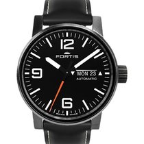 Fortis Cosmonautis Spacematic Stealth 40mm Automatic Swiss Eta...