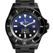 Rolex Sea-Dweller Deepsea Acél 44mm Fekete