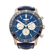 Breitling 46mm Automatic 2018 new Chronoliner Blue