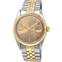 Rolex Oyster Perpetual Datejust 1601 Mens Watch With Box