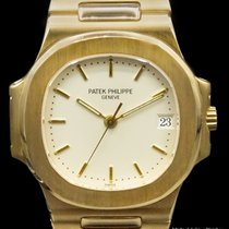 Patek Philippe Nautilus Yellow gold White
