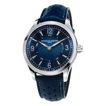 Frederique Constant 42mm Quartz 2018 nouveau Horological Smartwatch Bleu