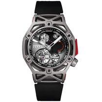 Hublot Techframe Ferrari Tourbillon Chronograph Titânio 45mm
