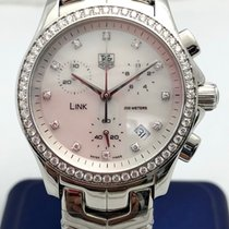 TAG Heuer Link Lady Steel 34mm White No numerals United States of America, New York, New York