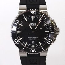 Oris Steel 43mm Automatic Aquis Date pre-owned United Kingdom, Aberdeenshire