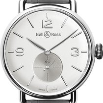 Bell & Ross Manual winding Silver Arabic numerals 41mm new Vintage
