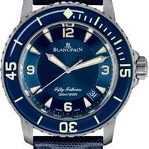 Blancpain 5015-12B40-O52A Titanium 2019 Fifty Fathoms 45mm new United States of America, New York, New York