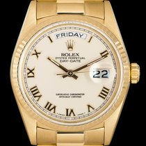 Rolex Day-Date 36 Yellow gold 36mm Roman numerals United Kingdom, London