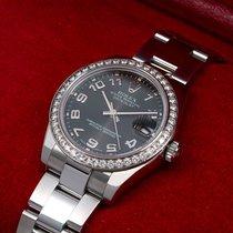 Rolex Lady-Datejust Or/Acier 31mm Noir