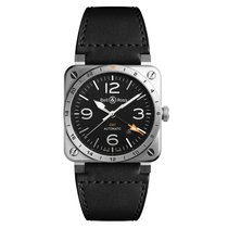 Bell & Ross BR 03 BR0393GMTST/SCA new