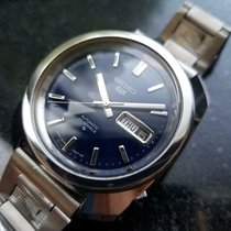 Seiko 5 Steel 37mm Blue United States of America, California, Beverly Hills