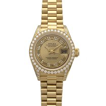Rolex Lady-Datejust 69158MR 1994 pre-owned