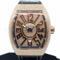 Franck Muller Yellow gold 44mm Automatic V45SCDT new Singapore, Singapore