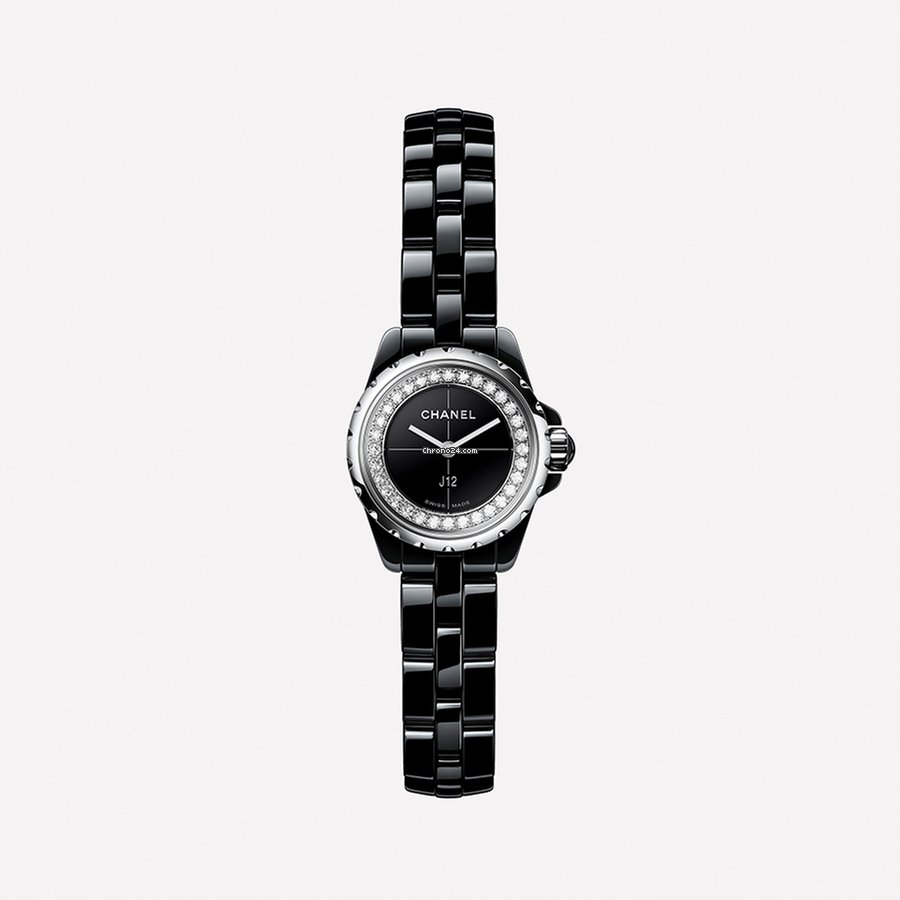 Chanel Ladies H5235 J12 Xs Black Watch