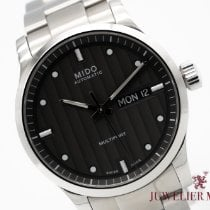 Mido Steel 42mm Automatic M005.430.11.061.80 pre-owned