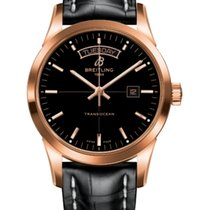 Breitling Transocean Day & Date Rotgold 43mm Deutschland, Melle