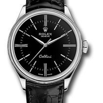 Rolex Cellini Time White gold 39mm Black United States of America, New York, NEW YORK