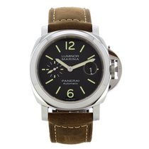 Panerai Luminor Marina Automatic Сталь 44mm Чёрный