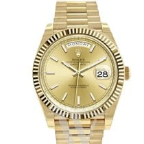 Rolex Yellow gold 40mm Automatic 228238 new