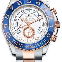 Rolex Yacht-Master II Gold/Steel 44mm White No numerals United States of America, California, Los Angeles