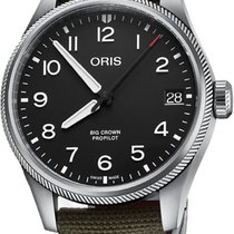 Oris Steel 41mm Automatic Big Crown ProPilot Date new