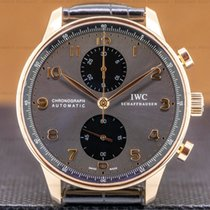IWC Portuguese Chronograph Rose gold 40mm United States of America, Massachusetts, Boston