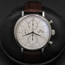 IWC Portofino Chronograph Steel 42mm Silver United States of America, California, Huntington Beach