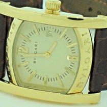 Bulgari Yellow gold Quartz Silver No numerals 30mm pre-owned Assioma