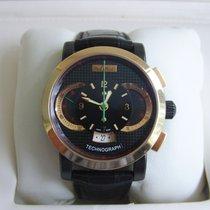 Paul Picot Technograph Roségold 44mm Schwarz