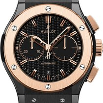 Hublot Classic Fusion Automatic Chronograph 18K King Gold