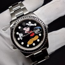 "Rolex Datejust Man Size Ref 116200  ""Mickey Mouse"" custom  Dial"