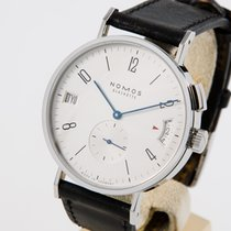 NOMOS Tangomat GMT Steel 40mm White