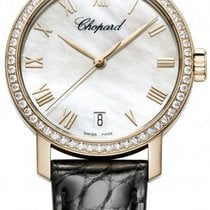 Chopard Classic 18k rose gold, Mother of pearl dial, diamond...