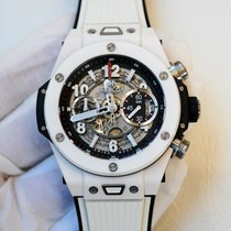 Hublot Big Bang Unico 45mm open-worked dial in micro blasted...