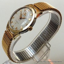 Omega Constellation Pie Pan De Luxe 1955 All Orig  Rose Gold...