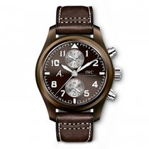 IWC Chronograph 46mm Automatic 2017 new Pilot Chronograph Brown