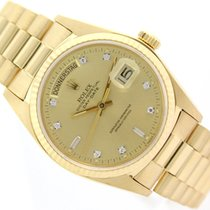 Rolex DAY-DATE PRESIDENT 18K YELLOW GOLD
