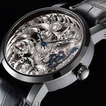 Benzinger Full Skeleton Floral Black/White German men's watch...