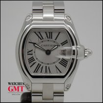 Cartier Roadster Steel White Dial