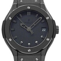 ウブロ Classic Fusion 581-cm-1110-rx All Black Quartz Ladies Ti...