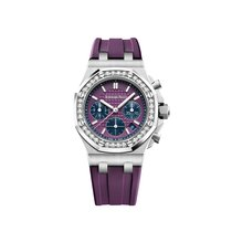 Audemars Piguet Royal Oak Offshore Lady Steel 37mm Purple United States of America, New York, NEW YORK