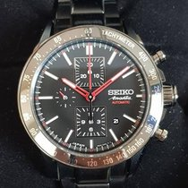 "Seiko ""New"" Ananta Limited Pvd Ceramic Automatic  Chronograph"