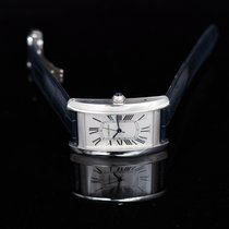 Cartier Tank Américaine Steel 45.10mm Silver United States of America, California, San Mateo