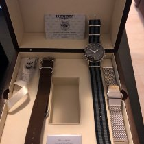Longines pre-owned Automatic 42mm Black Sapphire Glass 30 ATM