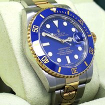 Rolex Submariner Date Gold/Stahl 40mm Blau