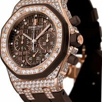 Audemars Piguet Royal Oak Offshore Lady Rose gold 37mm Brown No numerals United States of America, New York, New York